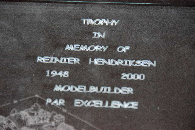 Sandy Shores awarded RH trophy